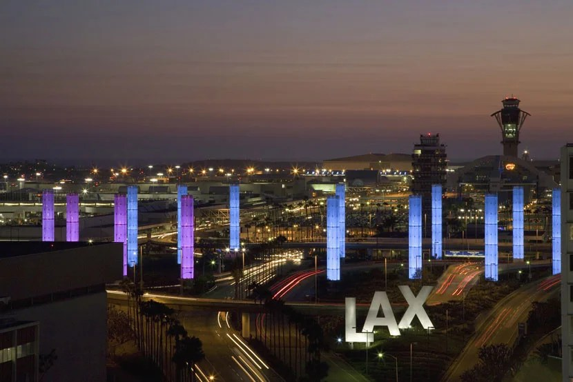 Los Angeles International Airport. Image courtesy of Shutterstock.