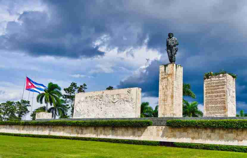 "The Che Guevara Mausoleum definitely warrants a visit. Photo courtesy of <a href=""http://www.shutterstock.com/dl2_lim.mhtml?src=cUaH8riovWJg_Sf4o2FCRQ-1-20&amp;clicksrc=download_btn_inline&amp;id=88508956&amp;size=medium_jpg&amp;submit_jpg="" target=""_blank"">Shutterstock</a>."