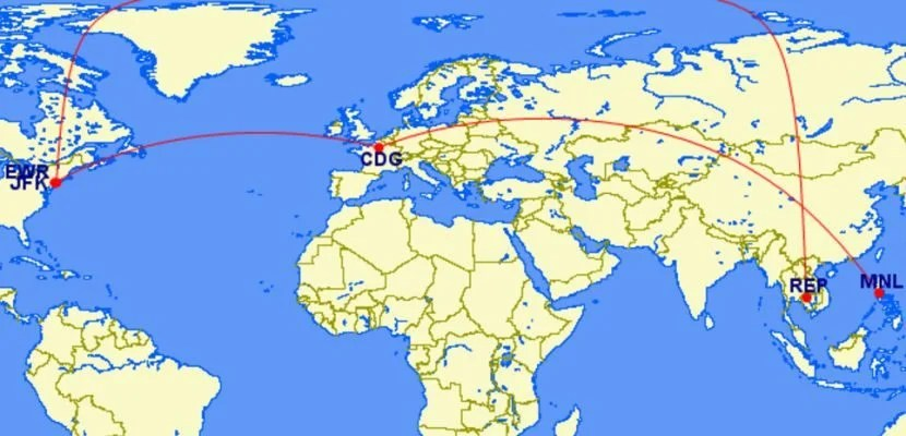 TPG Editor-in-Chief Zach Honig took this spectacular routing with United miles.