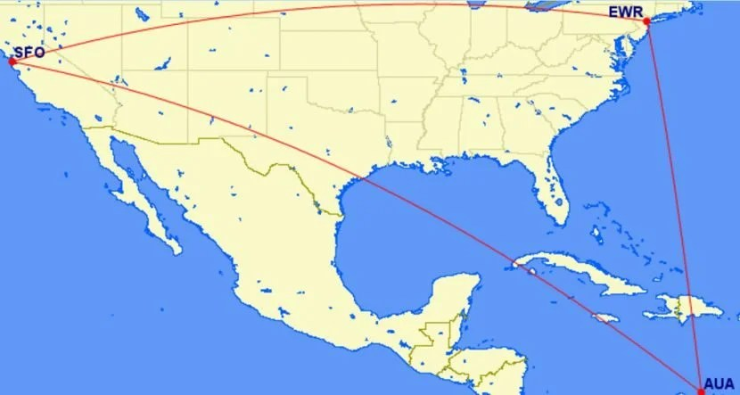 If you're headed on a domestic award trip, you can add a flight to the Caribbean or Mexico for just 10,00 more miles.
