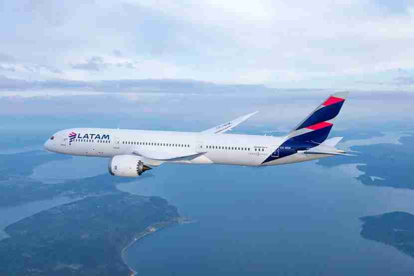 LATAM Brazil (formerly TAM) will fly you nonstop to Rio from New York and Miami. Image courtesy of LATAM Airlines.