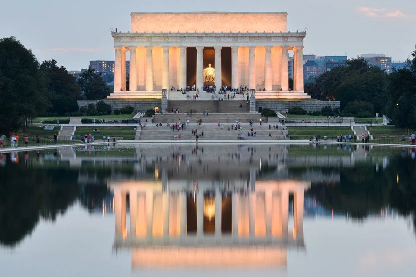 Lincoln Memorial in Washington, D.C. Image courtesy of Shutterstock.