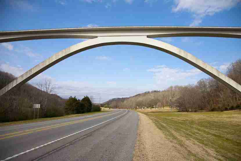Natchez Trace Parkway. Image courtesy of Shutterstock.