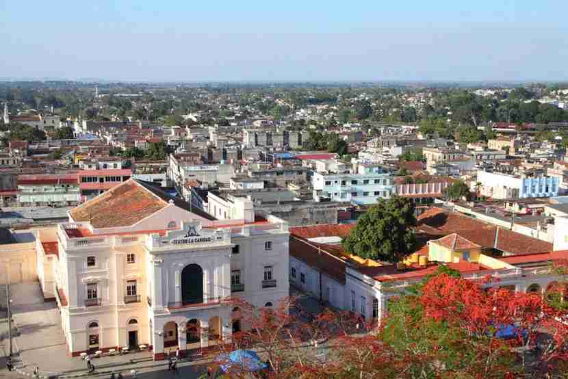 "Santa Clara Cuba, Image courtesy of <a href=""http://www.shutterstock.com/pic-74857498/stock-photo-aerial-view-of-main-square-in-santa-clara-cuba.html?src=a5KLxbSR_OaU7UZ4AfuWjw-1-23"">Shutterstock</a>."