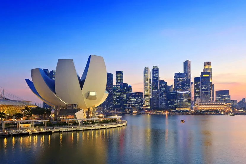 "Both Hong Kong and Singapore, pictured here, are important economic, and airline hubs. Image courtesy of <a href=""http://www.shutterstock.com/pic-150463478/stock-photo-singapore-skyline-and-view-of-marina-bay.html?src=vXOyPPchqT5gn37xQ0FHWA-1-2"" target=""_blank"">Shutterstock.</a>"