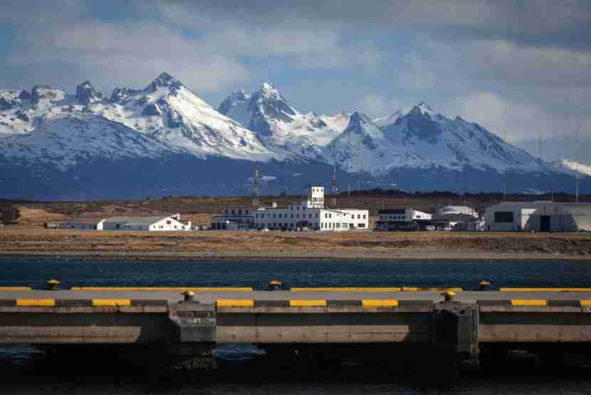 Ushuaia Airport is located in Argentina