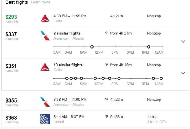 Google Flight 005