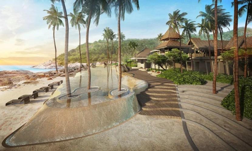 Koh Samui will be home to one of Ritz-Carlton's newest beach properties. Photo courtesy of Ritz-Carlton.