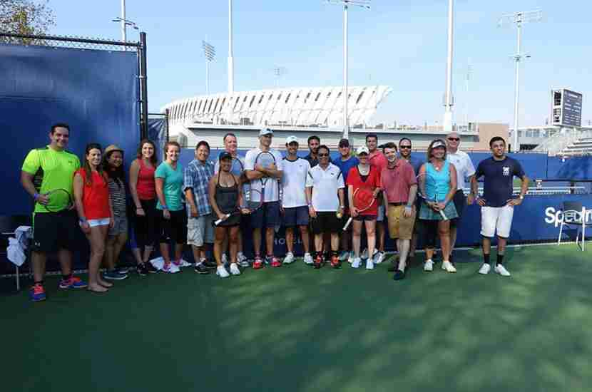 A group photo after the clinic.