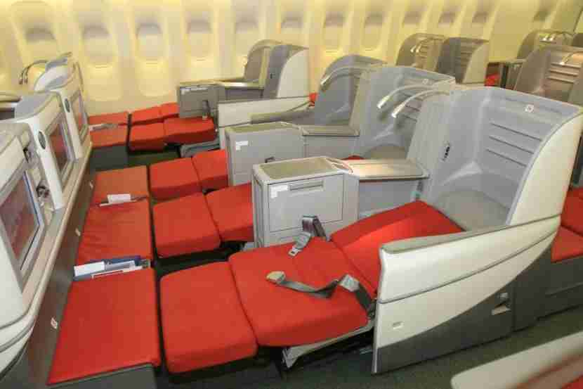Intra-Europe lie-flat business class seats from an unexpected source. Image courtesy of Ethiopian Airlines.