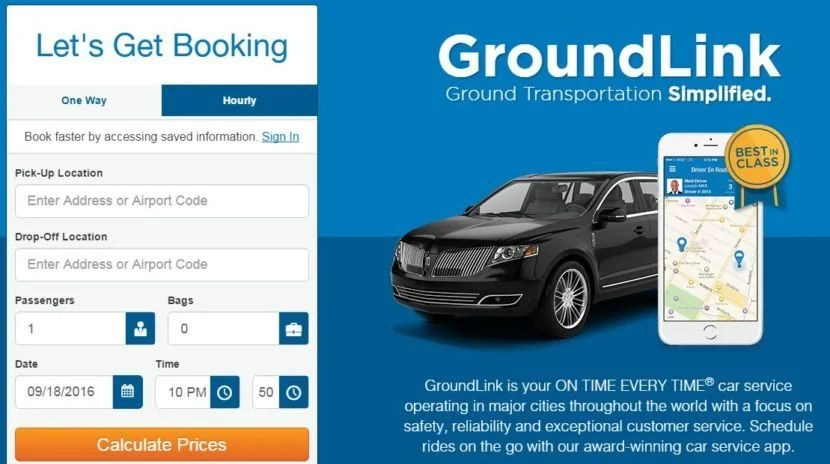 Use the GroundLink Amex Offer to save on your next on-demand limo.