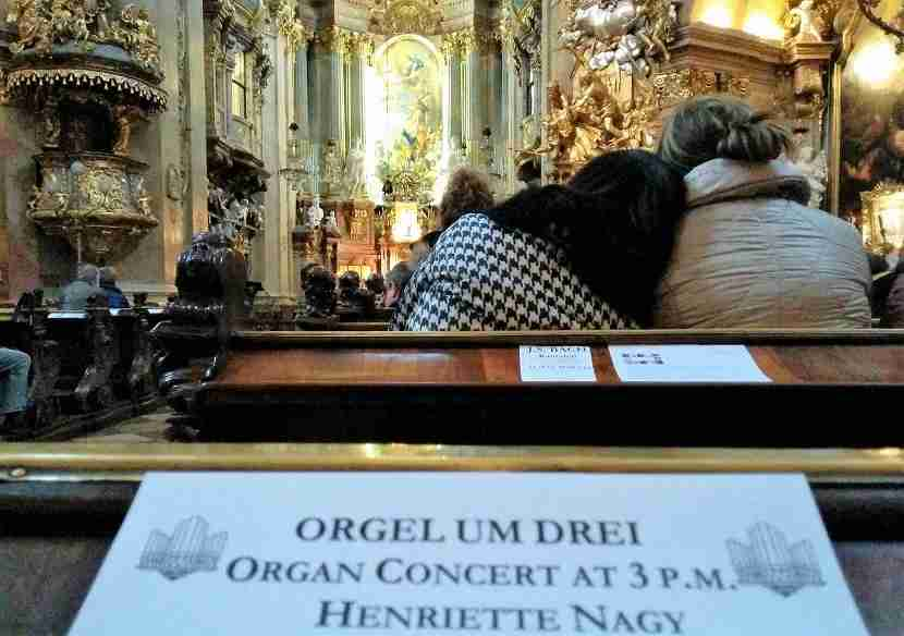 A free afternoon organ concert at St. Peter