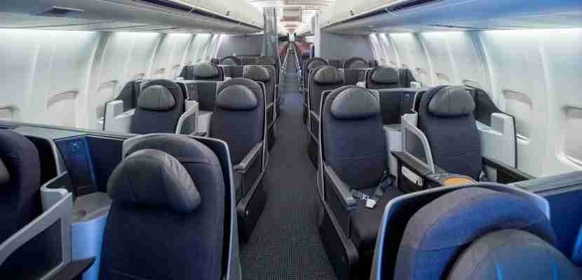 Unfortunately, not all 757s will end up with these lie-flat seats. Image by American Airlines.