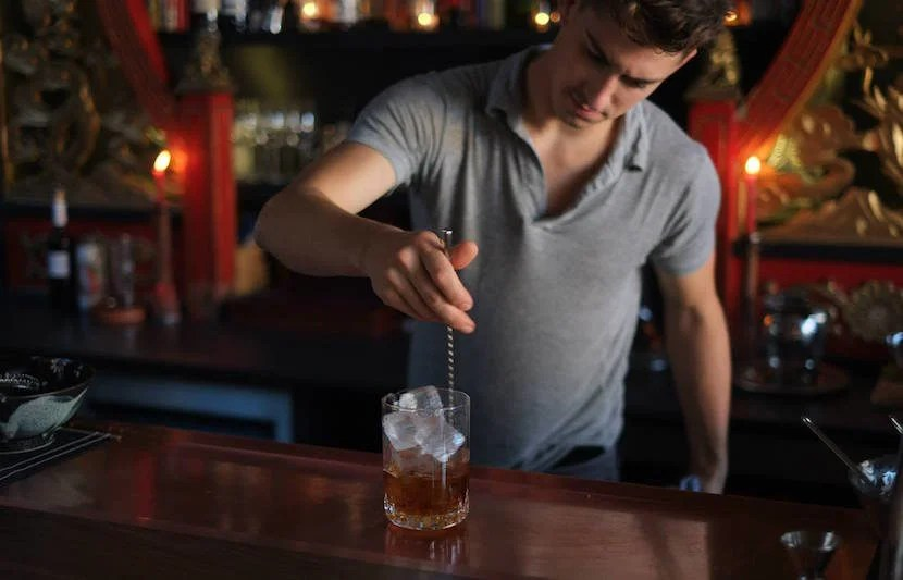 """Hand-crafted cocktails at Expatriate are the best way to spend your wait for dinner at Beast. Image courtesy of Expatriate's <a href=""""https://www.facebook.com/expatriatepdx/photos/a.408343895949729.1073741828.381180478666071/408344265949692/?type=3&theater"""">Facebook page.</a>"""