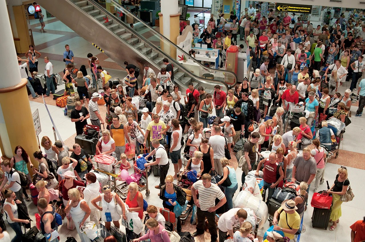 These 10 Airports Will Be Swamped Over Thanksgiving