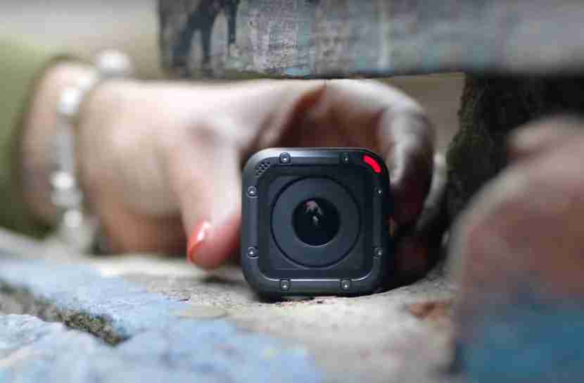 The GoPro Session 5 is one of the smallest action cameras in the world.
