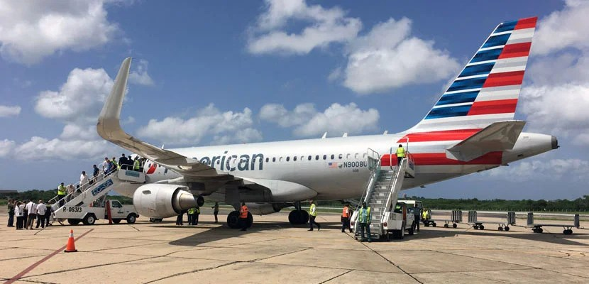 Review American Business Class Airbus A319 Miami To Cuba