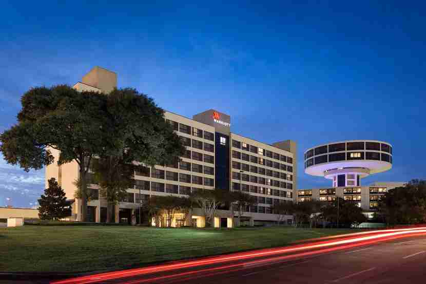 Image courtesy of the Houston Airport Marriott at George Bush Intercontinental