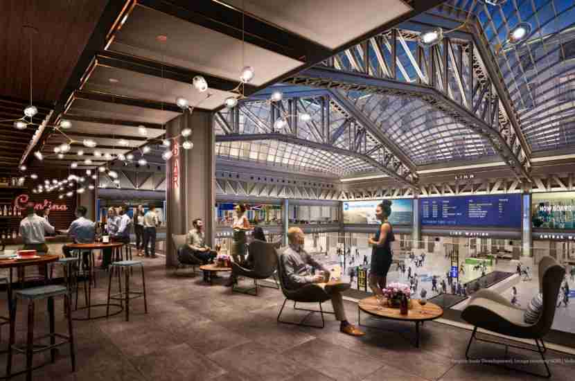Plenty of natural light and more retail options will make traveling through Penn Station much more pleasant.