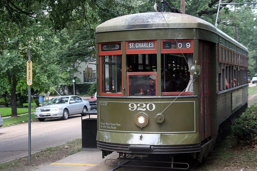 While the streetcar is a fun and beautiful way to see the town, it is not always the most reliable form of transportation. Image Courtesy of Shutterstock.