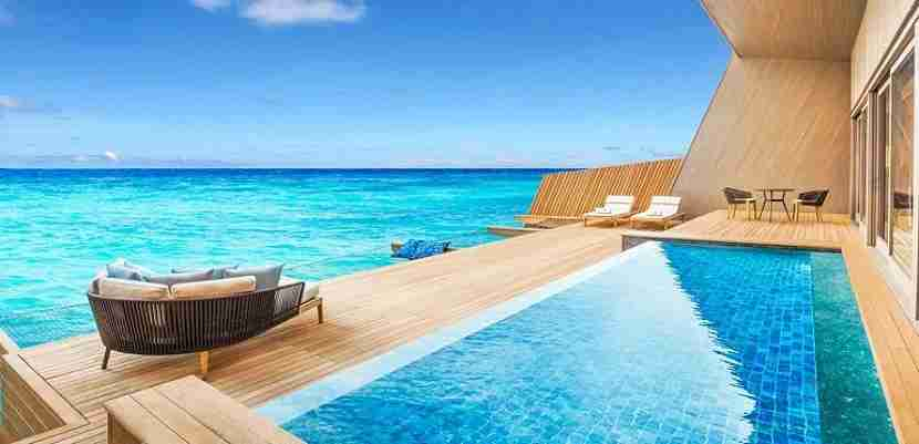Starpoints can make for fantastic redemptions at world-class hotels like the new St. Regis Maldives. Image courtesy of SPG.