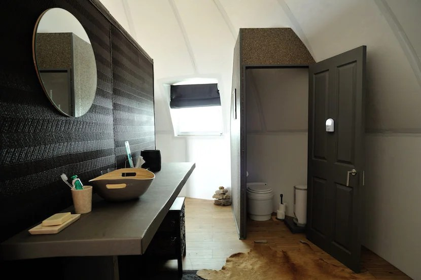 Extended en suite bathrooms are part of a recent revamp. Image courtesy of White Desert Antarctica.