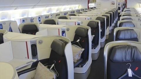 Review: Air France (777-300ER) Business Class, LA to Paris