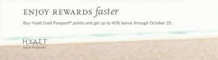 For the next three weeks, you can purchase Hyatt points for just 1.71 cents per point. Image courtesy of Hyatt/Points.com.