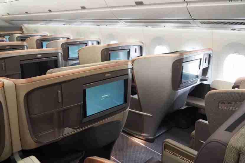 Singapore A350 Tour Business Class