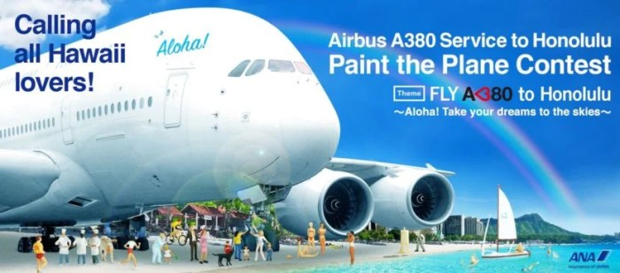 Design ANA's A380 Livery and Win Two Business-Class Tickets