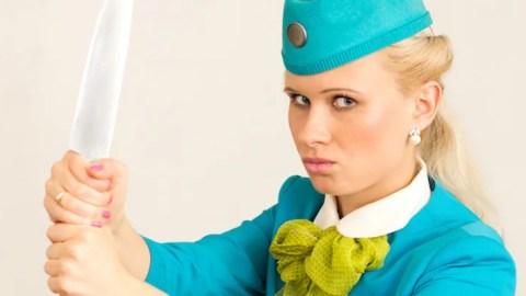 wraak van stewardessen