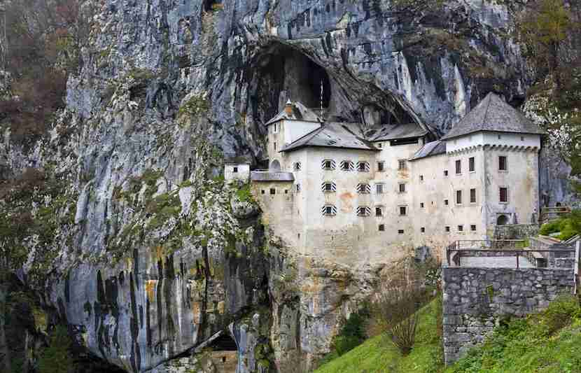 Predjama Castle is an enviable fortress. Image courtesy of Shutterstock.