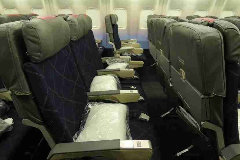 Most economy seats have the typical 31 inches of legroom.