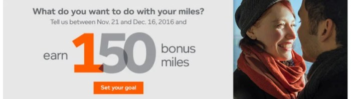 Get 150 bonus miles for a couple of minute of your time.