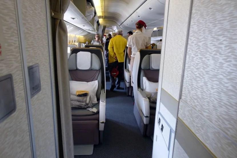 Flight Review Emirates 777 300er Business Class From Cape Town To Dubai Flydango