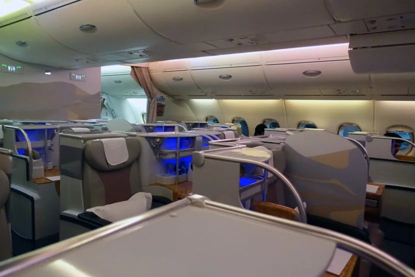 Review Emirates A380 Business Class From Dubai To Nyc