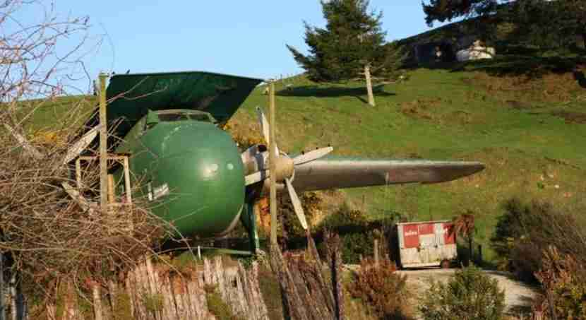 Crash on this jet in New Zealand. Image courtesy of Woodlyn Park.