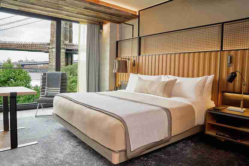 1 Hotels is extending its reach in New York with a new Brooklyn property. Image courtesy of 1 Hotels.