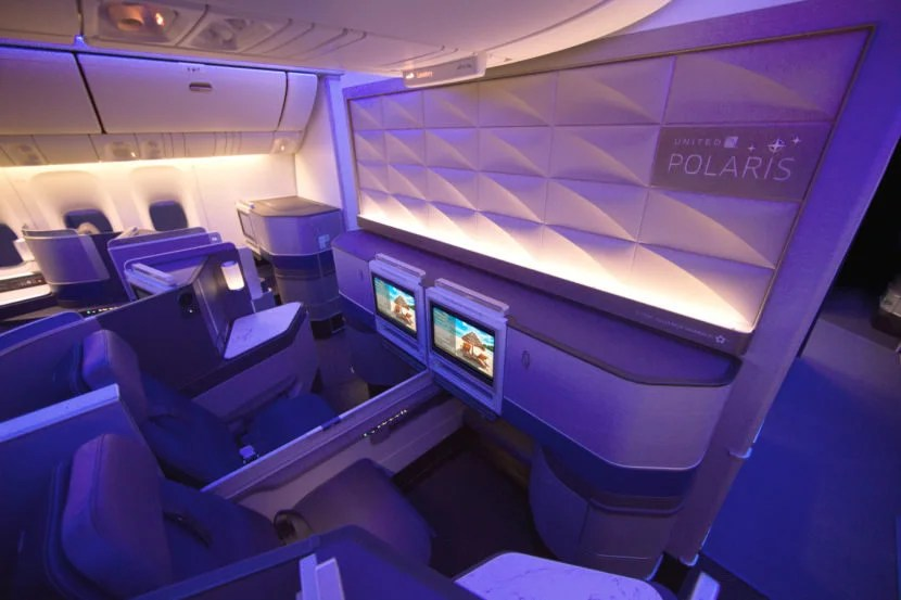 777 First Boeing United Business