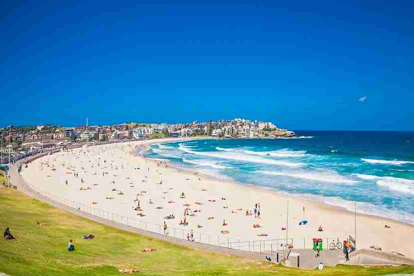 Board a bus bound for beautiful Bondi Beach. Image by master2/Getty Images.