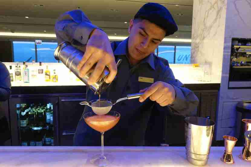 Expert bartenders will fix you a custom cocktail at the Polaris Lounge.