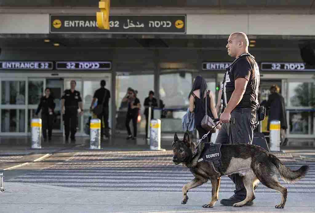Security at Ben Gurion isn