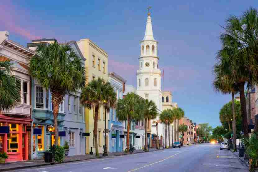 Charleston is one of America