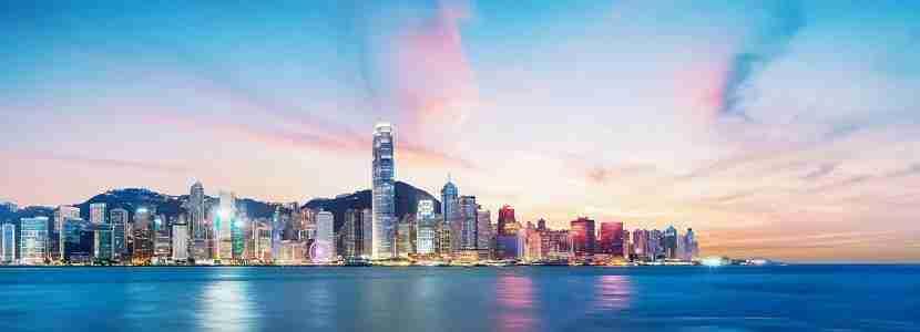 China Hongkong city scenery.