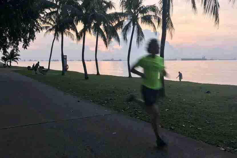 The best part about my sunrise run along Singapore