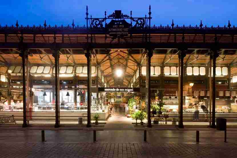 The San Miguel market is the most popular among tourists, but there are so many amazing markets to check out in Madrid. Photo courtesy of Mercado de San Miguel.