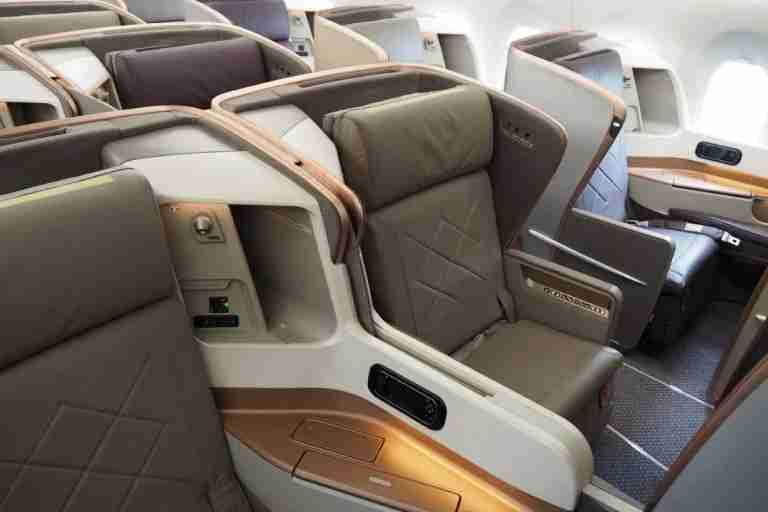 Singapore Airlines makes it relatively easy to redeem your miles for premium-cabin travel.