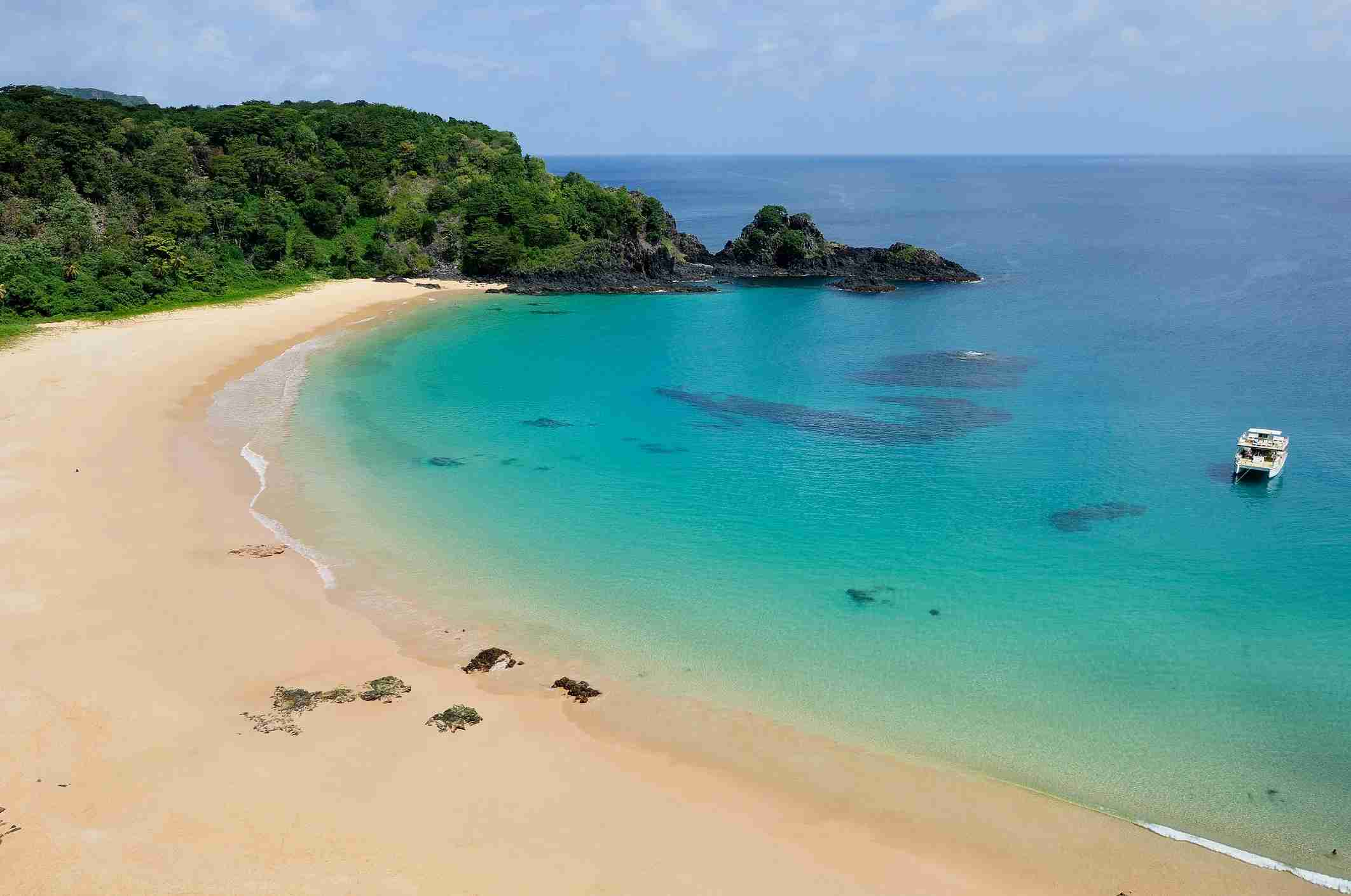 Baía do Sancho was ranked by Tripadvisor as the best beach in the world.