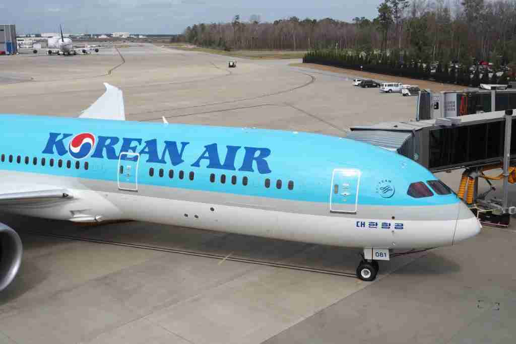 Korean Air 787-9 Dreamliner Tour Business First Economy
