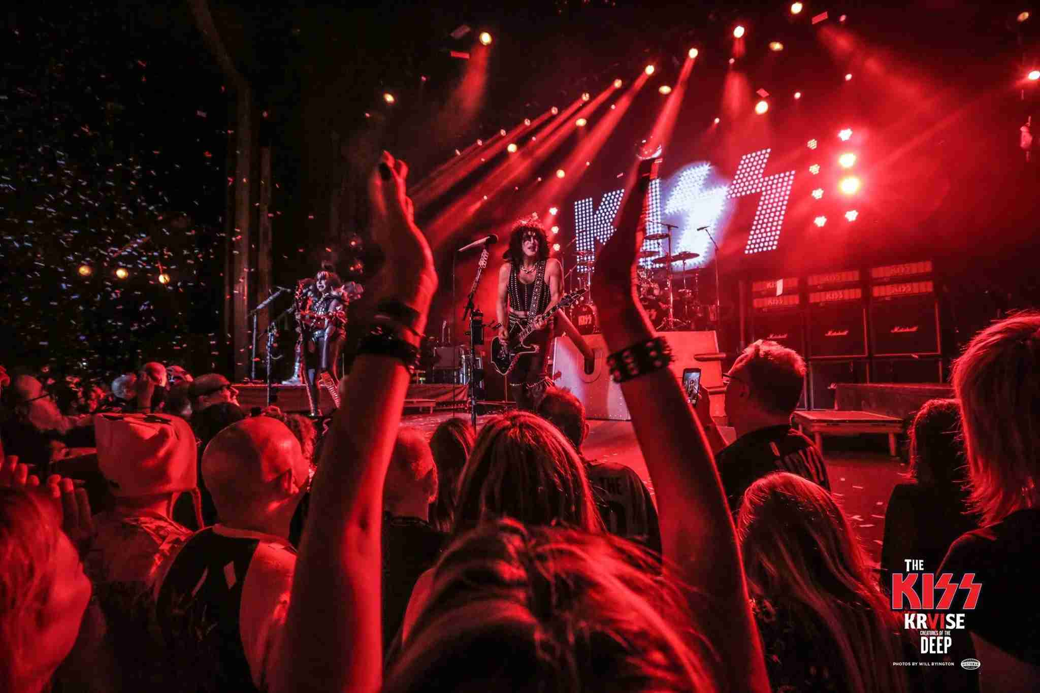 Rock and Roll All Nite—on the high seas. Image courtesy of the Kiss Kruise